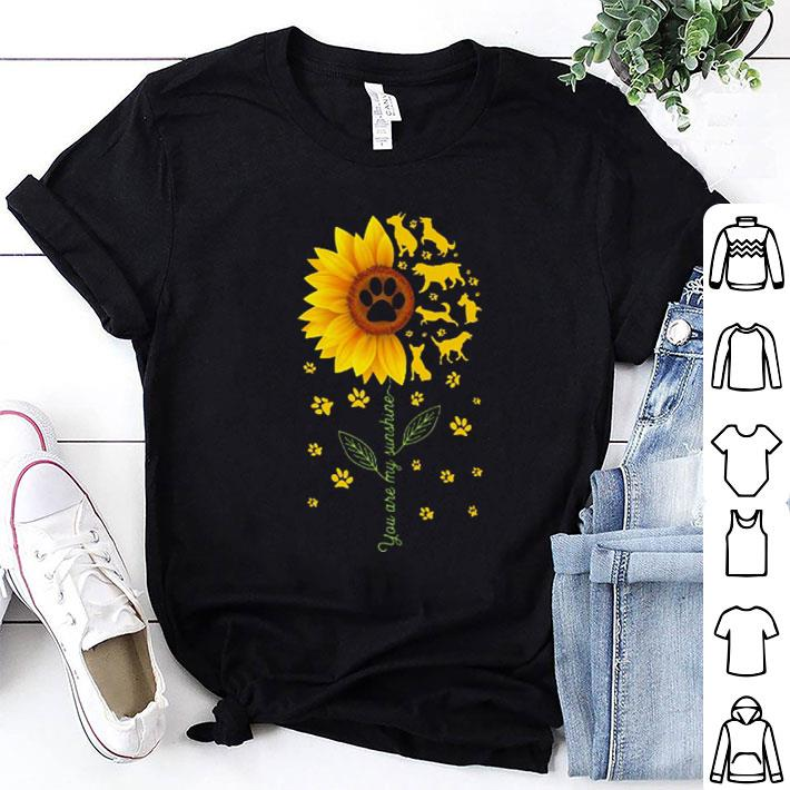 Sunflower You are my sunshine Jeep cars shirt 6