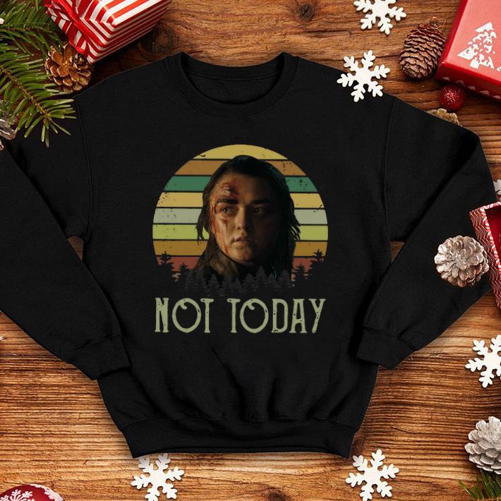 Sunset Arya Stark Not Today Game of Thrones shirt