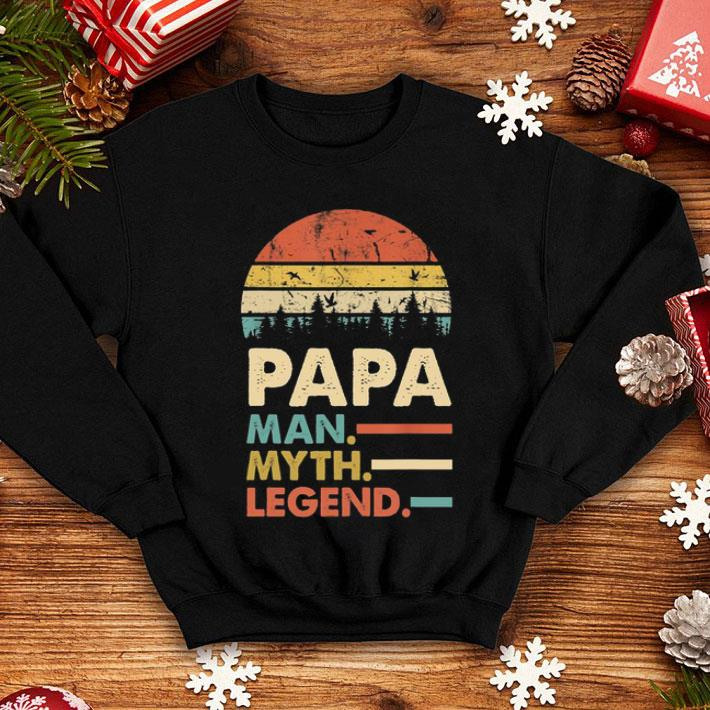 Sunset Papa man myth legend vintage shirt