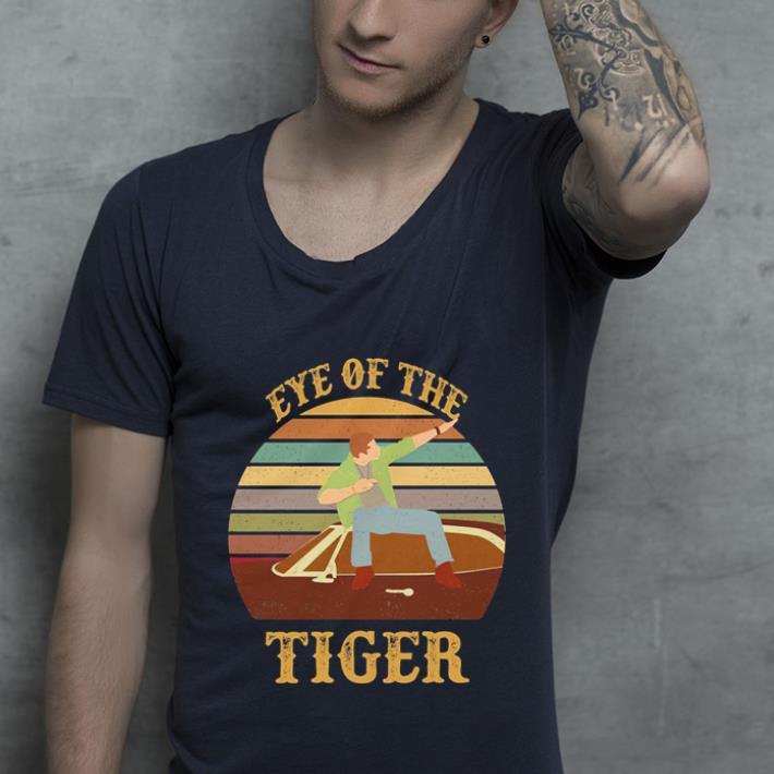 Sunset eye of the tiger shirt