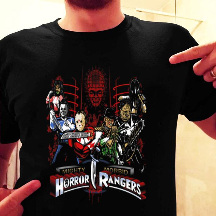 Superheroes Mighty Morbid Horror Rangers shirt