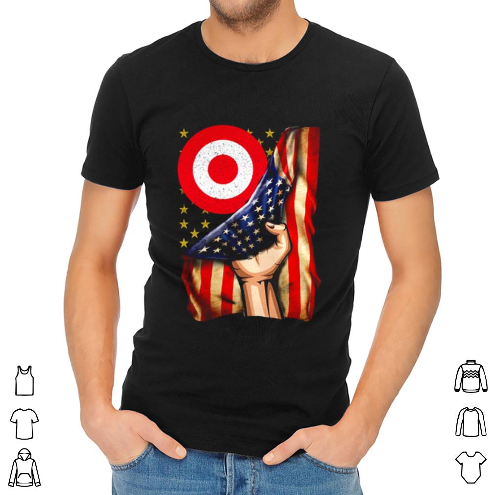 Target American flag Independence day Shirt