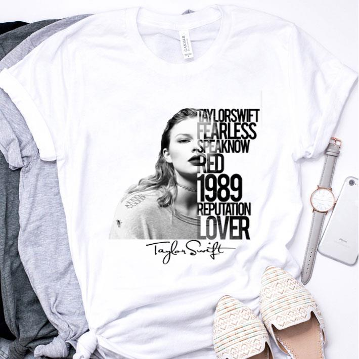 Taylor Swift Fearless Speaknow Red 1989 Reputation Lover shirt