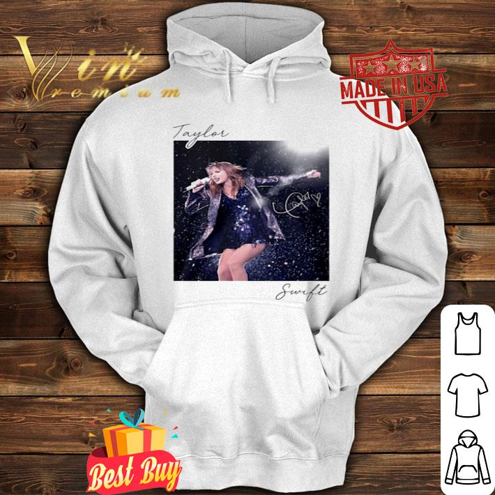 Taylor Swift sing live signature shirt