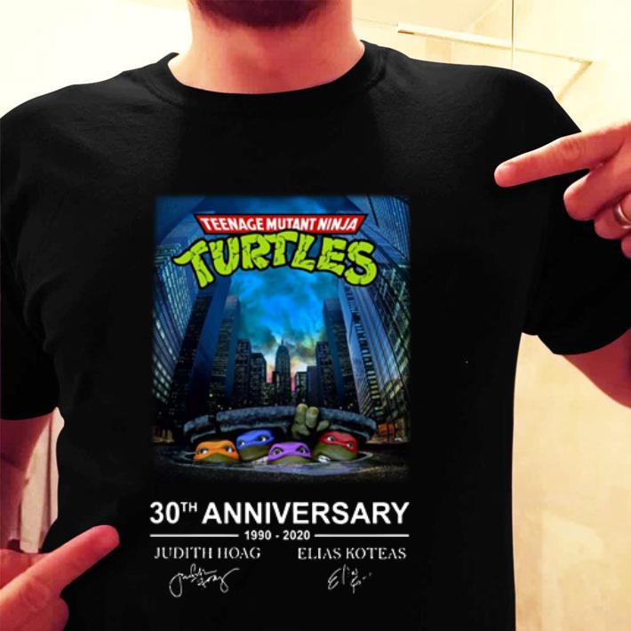 Teenage Mutant Ninja Turtles 30th anniversary shirt