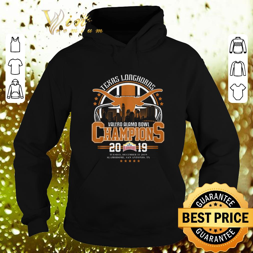 Texas Longhorns Valero Alamo Bowl Champions 2019 Tuesday shirt