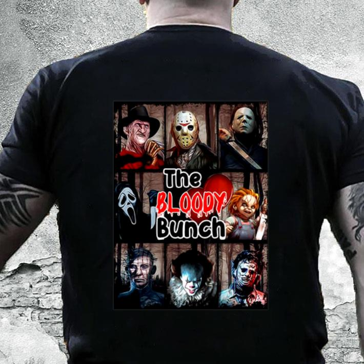 The Bloody Bunch horror movie characters shirt