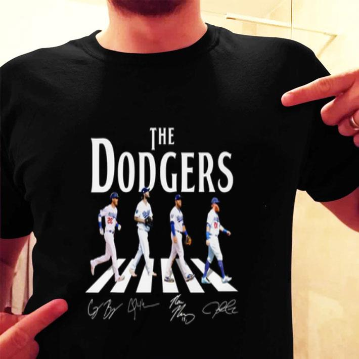 The Dodgers Abbey Road Signatures Los Angeles Dodgers shirt