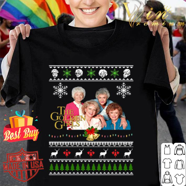 The Golden Girls Ugly Christmas shirt