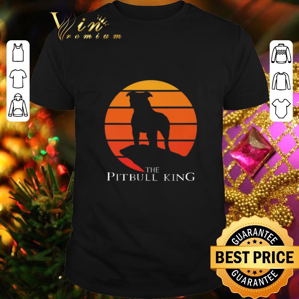 The Pitbull King The Lion King Sunset shirt 1