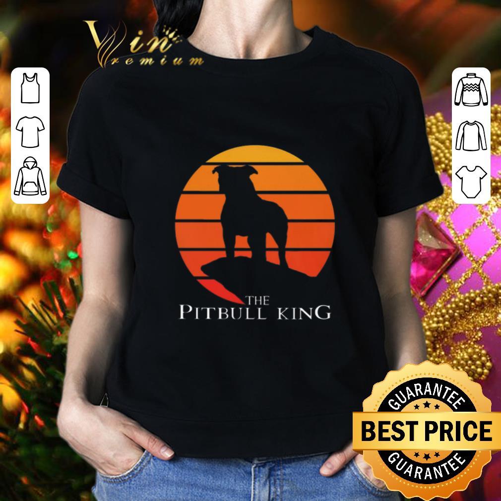 The Pitbull King The Lion King Sunset shirt 2