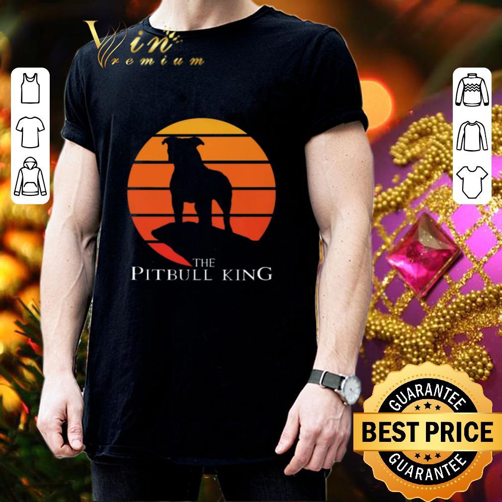 The Pitbull King The Lion King Sunset shirt 3