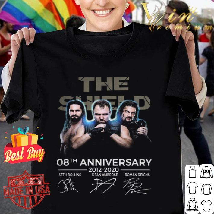 The Shield 08th anniversary 2012-2020 signatures shirt