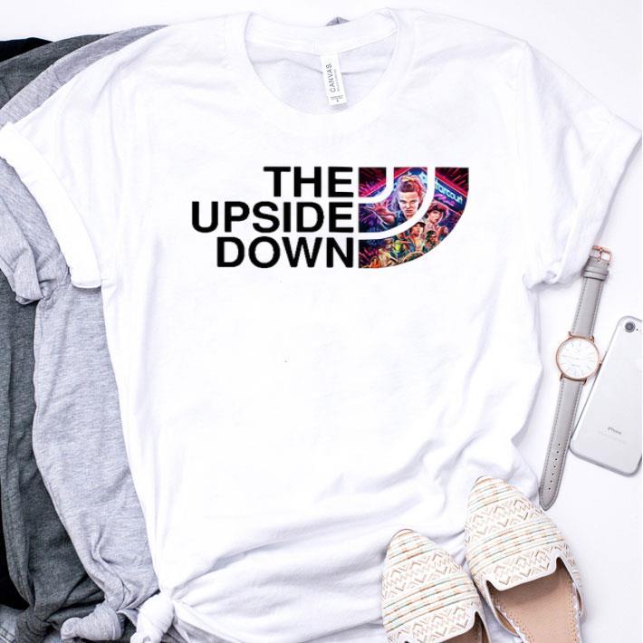 The Upside Down Stranger things 3 shirt