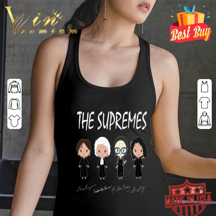 The supremes Ruth Bader Ginsburg signatures shirt