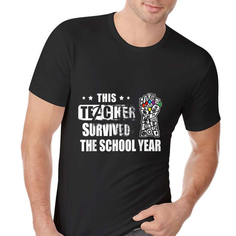 This teacher survived the school year shirt
