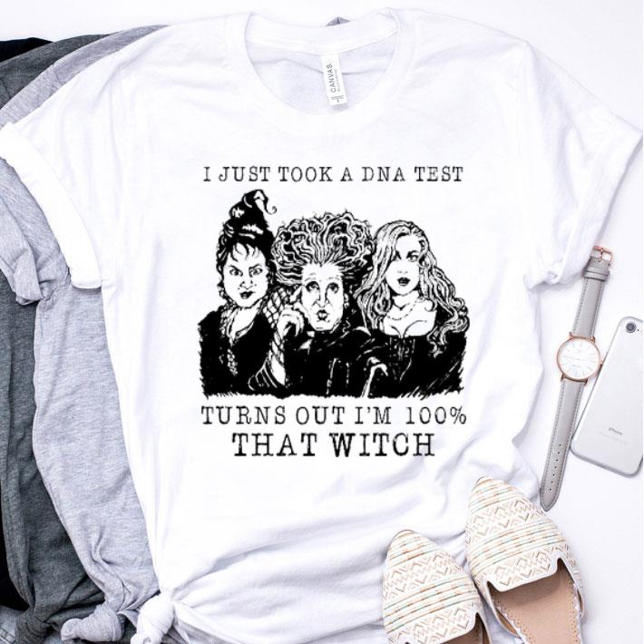 Three sisters i just took a DNA test Hocus Pocus halloween shirt