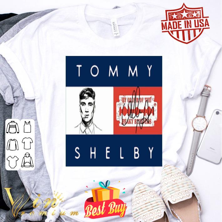 Tommy Shelby By Order Of The Peaky Blinders autographed shirt