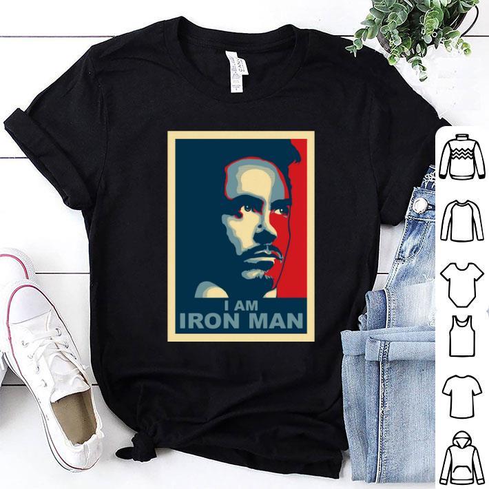 Tony Stark I am Iron Man vintage shirt 1