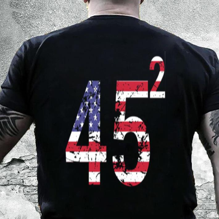 Trump 45 square 2020 shirt
