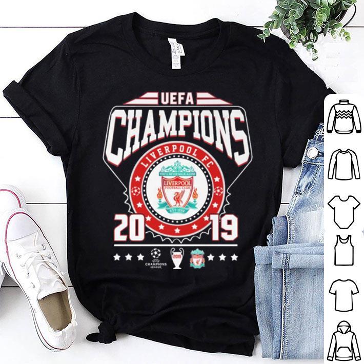 UEFA Champions Liverpool FC 2019 shirt
