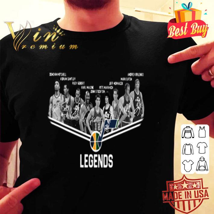 Utah Jazz Logo Legends All Signature shirt