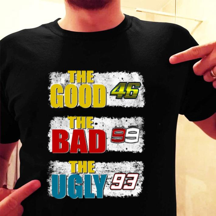 Valentino Rossi The Good 46 The Bad The Ugly 93 shirt
