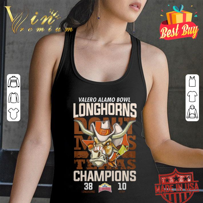 Valero Alamo Bowl don't makes Texas Champions Longhorns vs Utah shirt