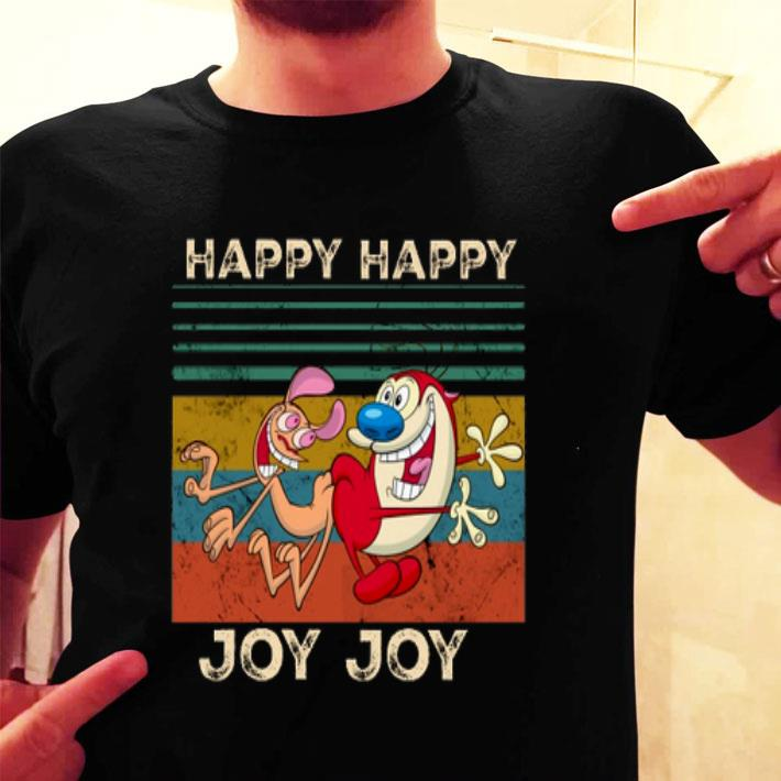 Vintage Happy Happy Joy Joy The Ren & Stimpy Show shirt