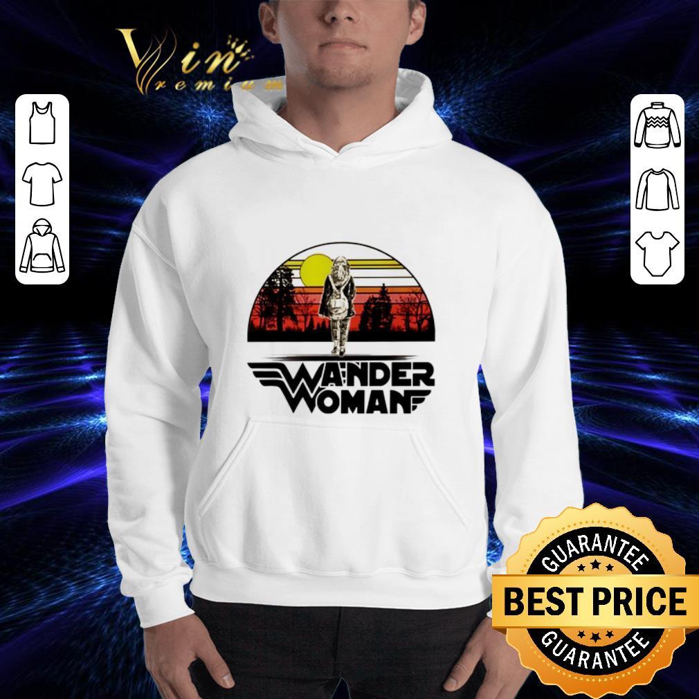 Wander woman logo sunset shirt 3