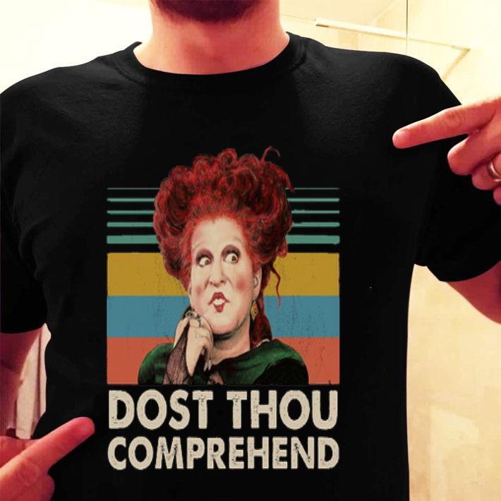 Winifred Sanderson Dost Thou Comprehend vintage shirt