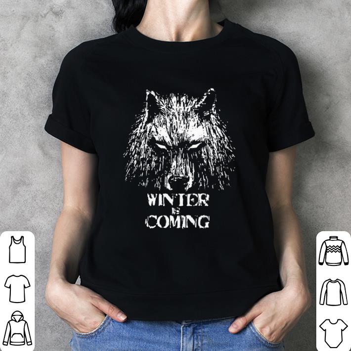 Game of Thrones House Stark Wolf Winter is Coming Kids Hoodie