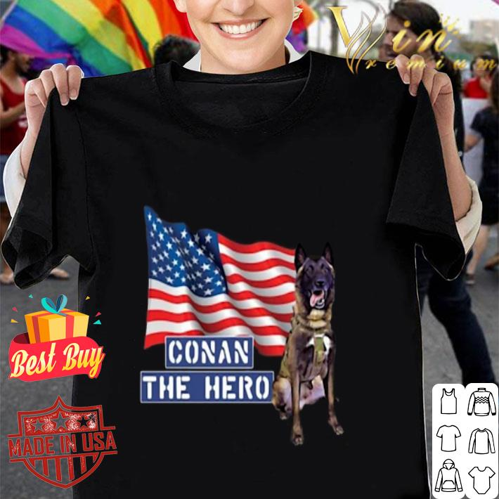 Zero Bark Thirty Conan The Hero shirt