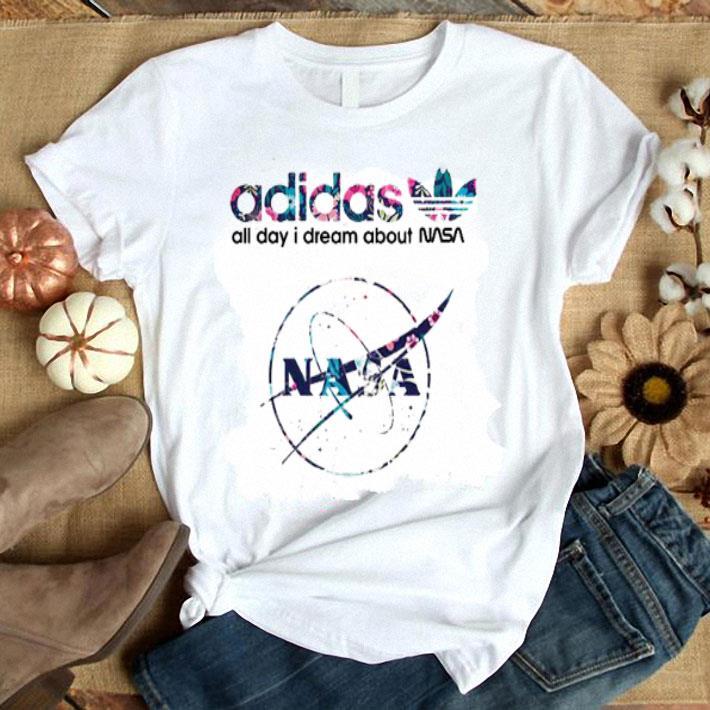 adidas all day I dream about Nasa shirt