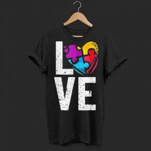 Autism Awareness Love shirt