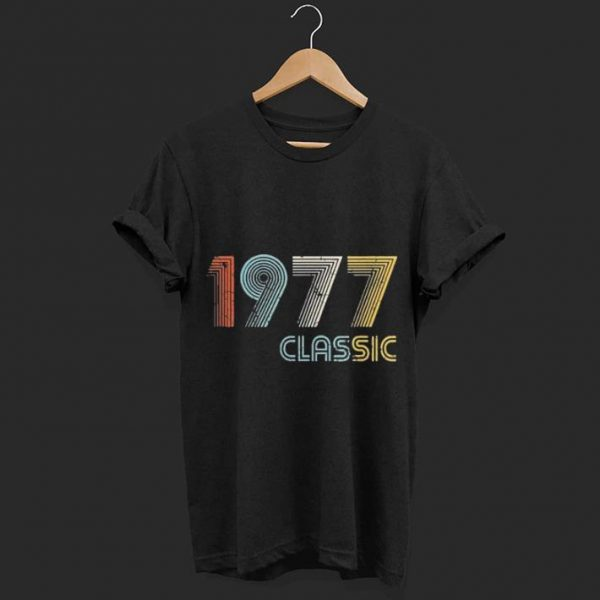 Classic Made In 1977 shirt
