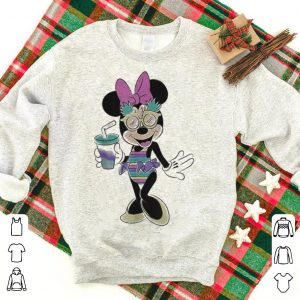 Disney Minnie Mouse Unicorn Stripes and Pineapples shirt