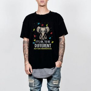 It's Ok To Be Different Autism Awareness Elephant shirt