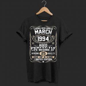 Legend were born in march 1994 shirt