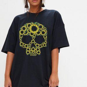 Skull Sunflower shirt 2