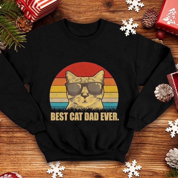Vintage Best cat dad ever shirt 4 - Vintage Best cat dad ever shirt