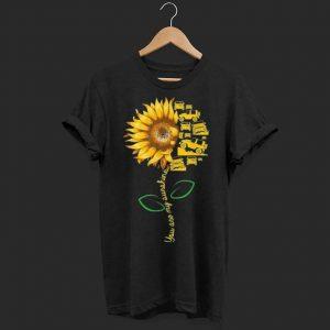 You're my sunshine sunflower-jeep shirt