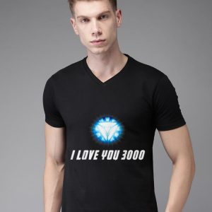 Arc Reactor I Love You 3000 End Game shirt 1