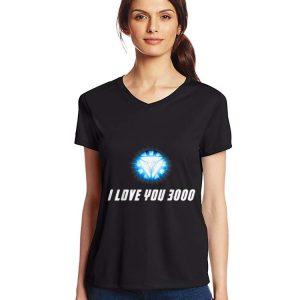 Arc Reactor I Love You 3000 End Game shirt 2