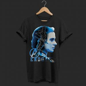 Avengers Endgame Black Widow Silhouette shirt