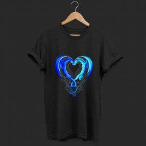 Cool Dragon Heart shirt