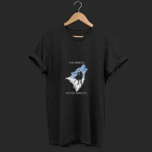 Direwolves The North Never Forgets shirt