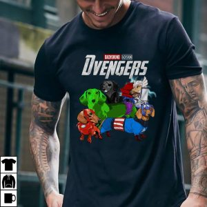 Marvel Avenger Endgame Dvengers Dachshund version shirt