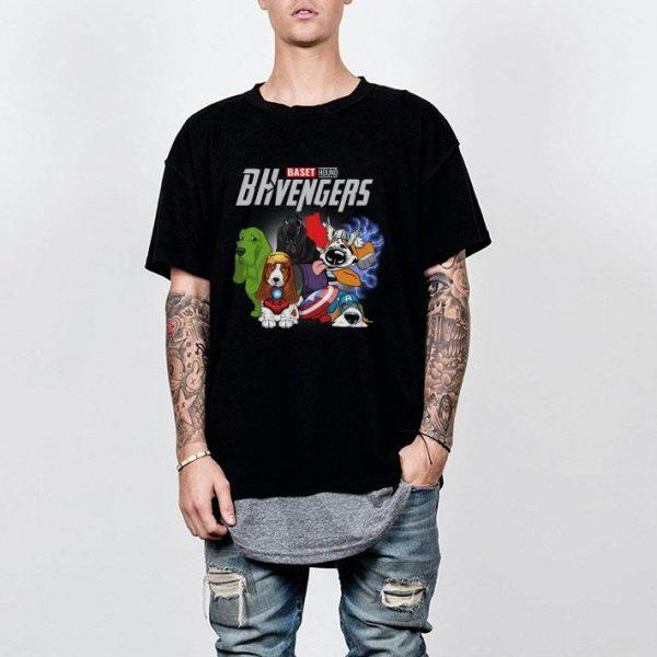 Marvel avenger Baset hound shirt
