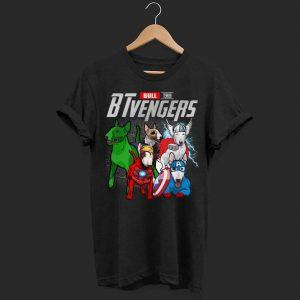 Marvel evenger Bull Terrier shirt
